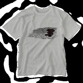 nanairo-factoryのブロックT Washed T-shirts