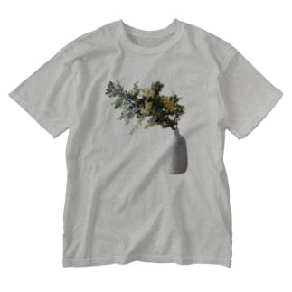 ミモザ Washed T-shirts