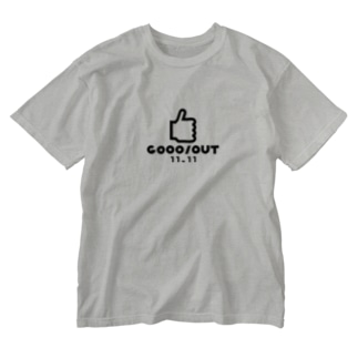 HANDSIGN GOOD/OUT B Washed T-shirts