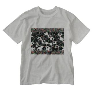 温かい夢 Washed T-Shirt