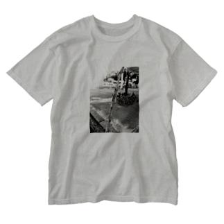 ヒマワリ Washed T-shirts
