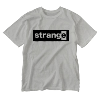 strange world's end strange02ウォッシュTシャツ淡色/濃色 Washed T-shirts