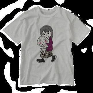 tamagame777のtamage×まろん Washed T-shirts