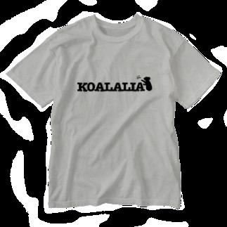 leacheのKOALALIA Washed T-shirts