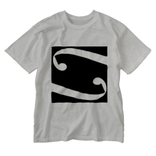 f Hole WT/Strings Washed T-shirts