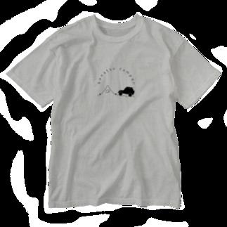 konatsu_campのkonatsu Tシャツ Washed T-shirts