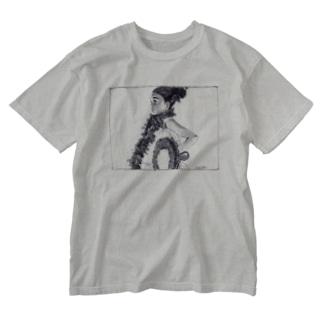 E Hula Mai / ウォッシュTシャツ Washed T-shirts