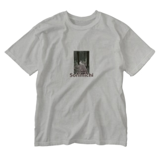 ソリミチ Washed T-shirts