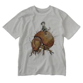 ダニライダー Washed T-shirts