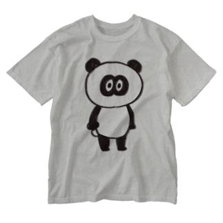 パンダメイク Washed T-shirts