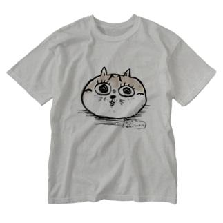 和美猫祭シェイミ嬢 Washed T-shirts