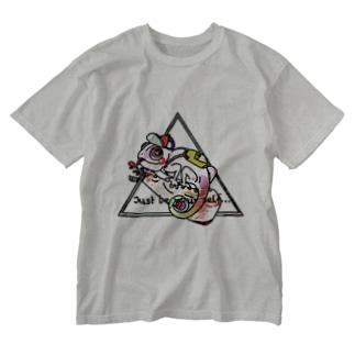 カラフル+カメレオン Washed T-shirts