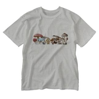 はまッシュ! バナー風 Washed T-shirts