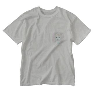 Pleiadian(プレアデス星人) Washed T-shirts
