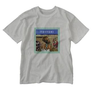 鳥取 Washed T-shirts