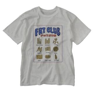 ポテト図鑑 Washed T-Shirt