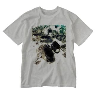 恋に鯉する?! ver.2 Washed T-shirts