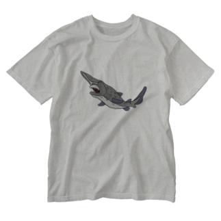 ゴブリンシャーク Washed T-shirts