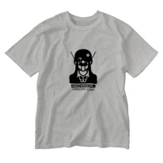 メカモノ美ちゃん Washed T-shirts