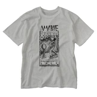 アマビエぷーちゃん Washed T-shirts