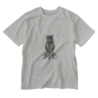だりおくんときぃちゃん mono Washed T-shirts