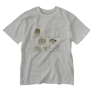 Tunicates Washed T-shirts