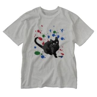 KIDくん Washed T-shirts