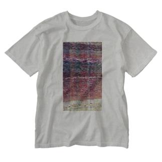 夜明け/カヨサトーTX Washed T-shirts