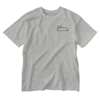 NAGAIUSAGI Washed T-shirts