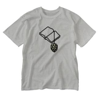 BREWBOOKSロゴTシャツ Washed T-shirts