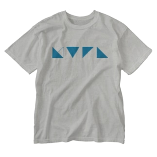 謎記号グッズ Washed T-shirts