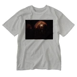 ブハラの夜 ウズベキスタン02 Washed T-shirts