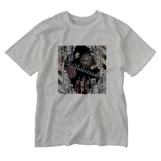 Oh kinieeeee!!シリーズ(前面プリント) Washed T-shirts