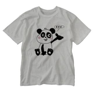 666 PANDA🤙🤙🤙 🇨🇳 Washed T-shirts
