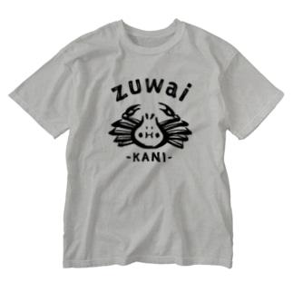 ZUWAI KANI Washed T-shirts