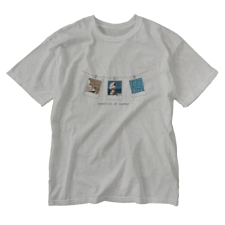 memories of summer Washed T-shirts