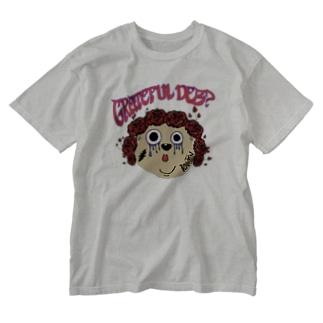 グレイトフルデブ Washed T-shirts