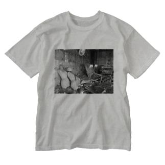 リフォームたのしみだね〜 Washed T-shirts