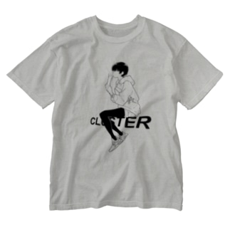 Cluster × 塀 8th anniversary Washed T-shirts