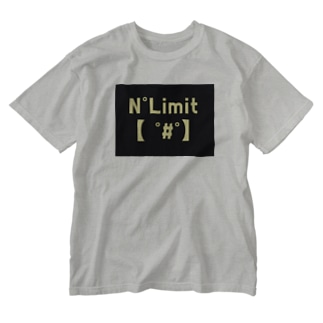 NO リミット! Washed T-shirts
