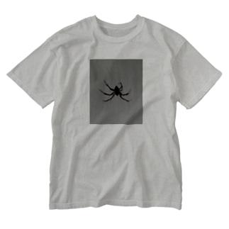 蜘蛛 Washed T-shirts
