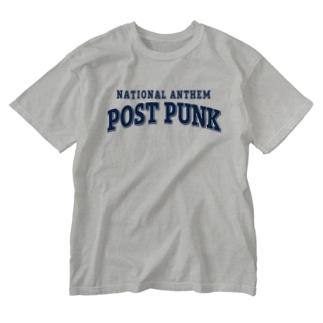 コレクトーンのNational Anthem POST PUNK Washed T-shirts