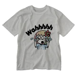 泣きたい時もある(ハワイを愛するあなたへ) Washed T-Shirt