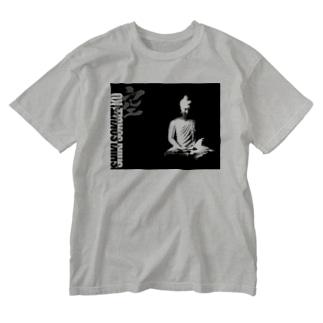 SHIKISOKUZEKUお釈迦様 Washed T-shirts