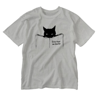 minachape STOREのくろねこ Washed T-shirts