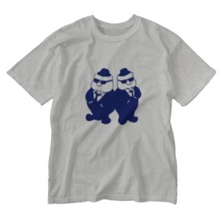 ふっくらブラザーズ Washed T-shirts