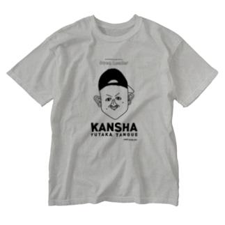 【KUFC】 'KANSHA' Yutaka Tanoue T-SHIRT Washed T-shirts