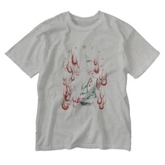 奉教人の死 / ろおれんぞ Washed T-shirts