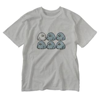 電線でぐちぐち言うTORI Washed T-shirts