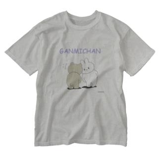 GANMICHAN Tシャツ Washed T-shirts